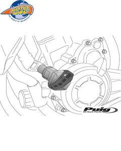 ΜΑΝΙΤΑΡΙΑ PUIG 6565N R12 ΜΑΥΡΑ KTM/DUKE390 13-16